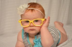 Bebé con discapacidad