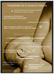 Propiedades y beneficios de la lactancia materna