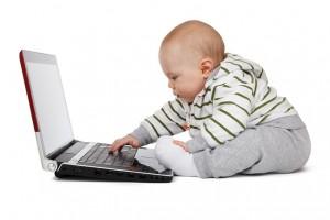 Redes sociales bebés