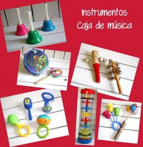 Instrumentos caja musical