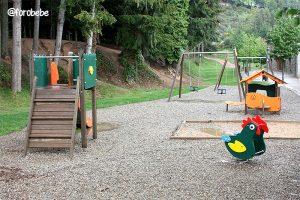 Parque infantil Hotel Vilar Rural de Sant Hilari Sacalm