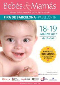 Cartel Salón Bebés&Mamás 2017 BCN