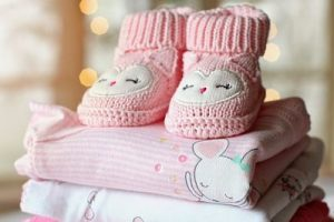 Canastilla de recién nacida