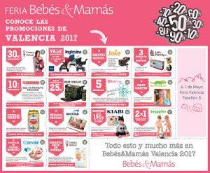 Vales descuento Bebés&Mamás Valencia 2017