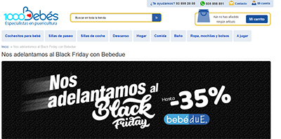 Black Friday 2017 1000Bebés