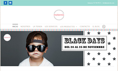 Black Friday 2017 Maternis
