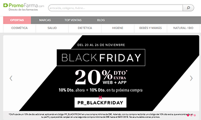 Black Friday 2017 PromoFarma